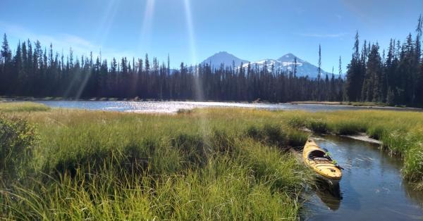 Kayaking Scott Lake by Wyatt Pace