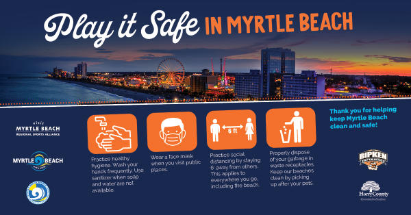 Play it Safe in Myrtle Beach infographic