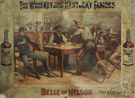 Bourbon Advertisement