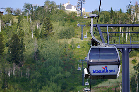 Steamboat Gondola Summer