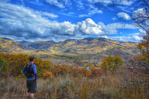 Hiking around Steamboat Springs in the fall