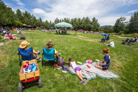 Music on the Green at the Yampa River Botanic Park