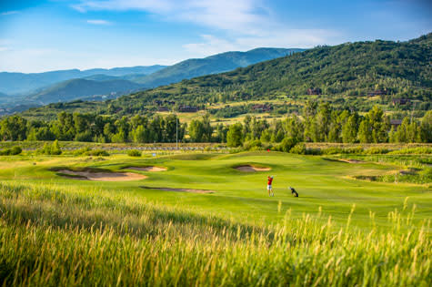 Haymaker Golf Course is located in Steamboat Springs, Colorado