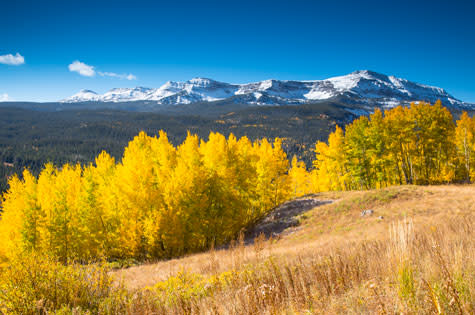 Fall scenic drives around Steamboat Springs