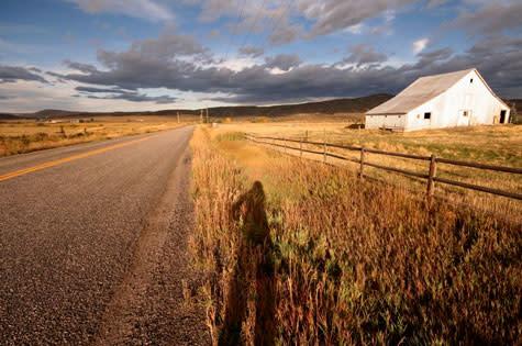 Road biking in Steamboat Springs, Colorado