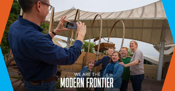 The Modern Frontier - Social Media Example