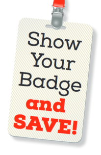 Saving Badge