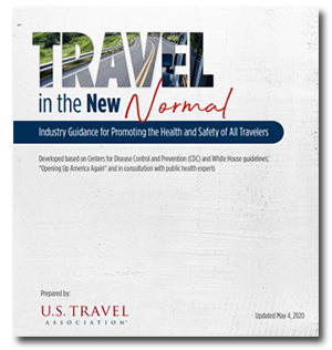 PDF Cover graphic for Travel in the New Normal