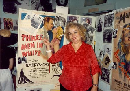 Doris Cannon at early Ava Gardner Museum, Smithfield, NC.