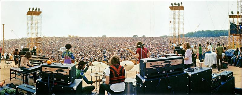 Peace, Love, Rock & Roll: Elliott Landy's Woodstock Vision
