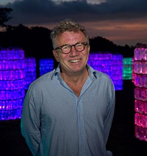 Bruce Munro Southern Light exhibit at Brookgreen Gardens