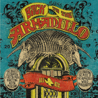 Back to the Armadillo CD Cover