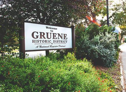 Gruene Sign