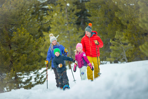 Image result for family snowshoeing