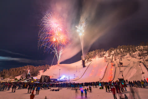 Winter Carnival Fireworks Howelsen