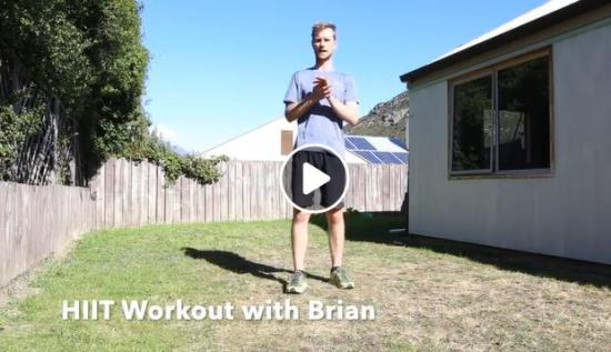 QLDC Sport & Recreation At Home HIIT Workout