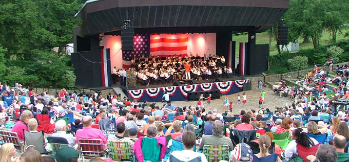 Dogwood Dell Fourth of July Celebration