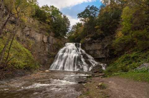 Fall - Delphi Falls County Park