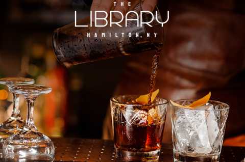 Library at Colgate Inn