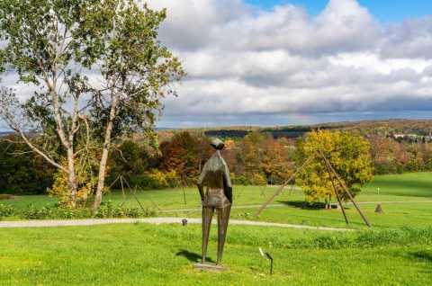 Fall - Stone Quarry Hill Art Park