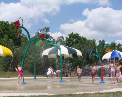 Splash Pad at Washington Township Park Avon