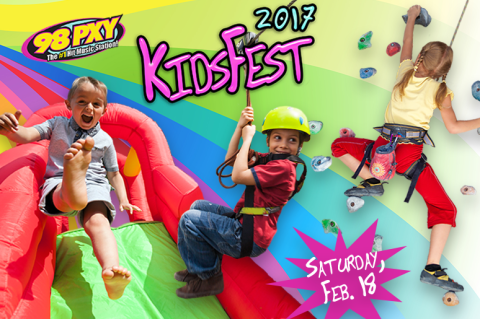 KidFest poster for 2017 event at Total Sports Experience in Rochester, NY