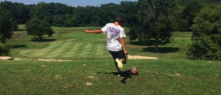 Overland Park Footgolf Tee Off