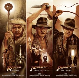 indiana jones marathon PAC movie poster