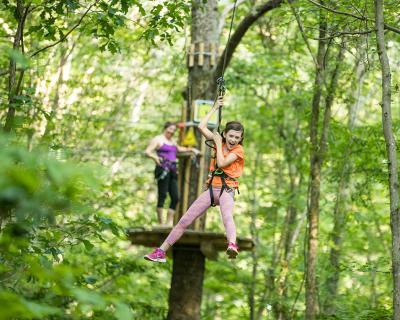 DTN - ROS - Go Ape! Zip Line & Treetop Adventure - Bear Delaware