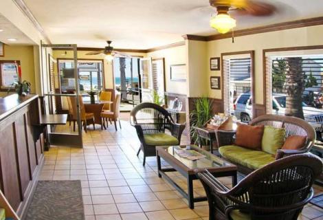 Motel 6 Lobby