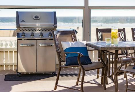 SeaVenture Beach House Vacation Rental Deck