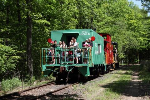Easter Bunny Train Rides in Rochester, NY