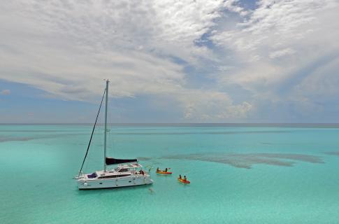 Disfruta con los tuyos del Mar Caribe