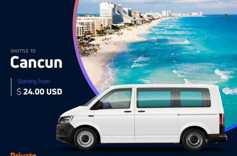 Cancun Transportation Banner
