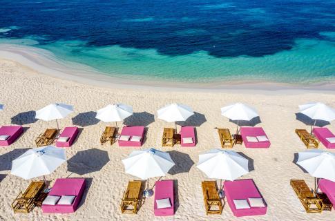 La Playa de las Camas Rosas