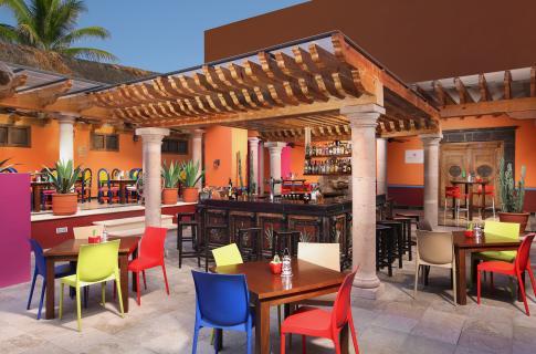 Bar del hotel Grand Oasis Cancún