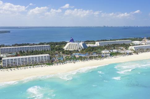 Panorámica Grand Oasis Cancún