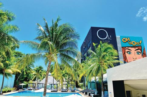 Instalaciones del hotel Oh! Cancún The Urban Oasis