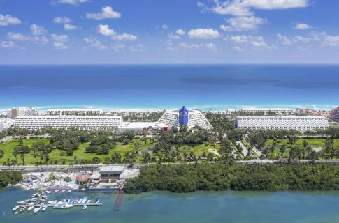 Mar del hotel Grand Oasis Cancún