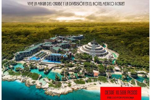 Paquete Mexico xcaret