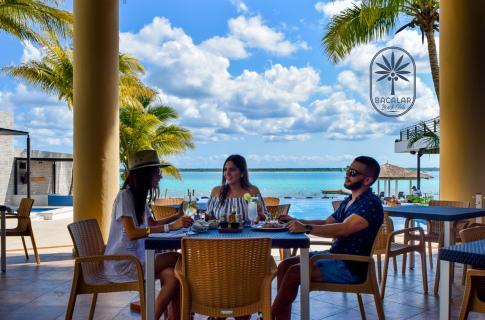 Restaurante con vistas panorámicas
