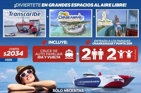 Vamos a Isla Cozumel Combo Nacional