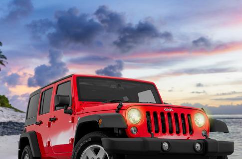 jeep wrangler hard top 4 door/ toldo duro 4 puertas