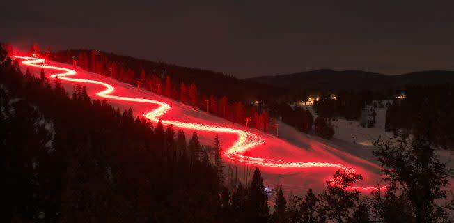 Ski Taos Torchlight Parade