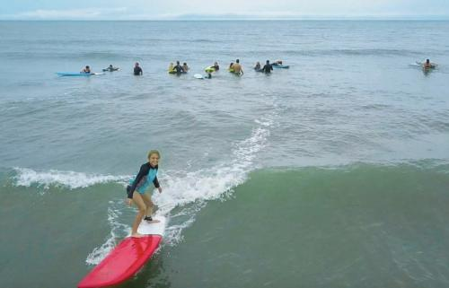 Surf and Adventure Surf Lessons Camp