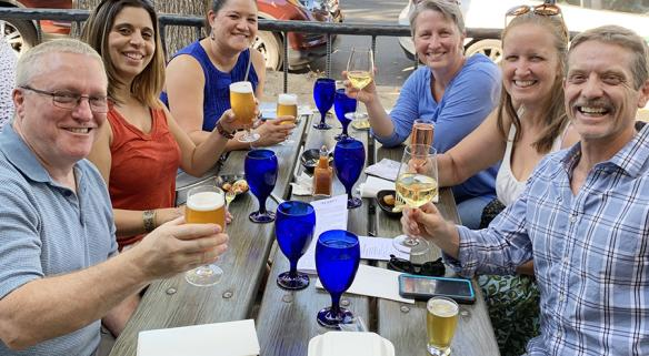 Great food and drink pairings at Alaro Brewery