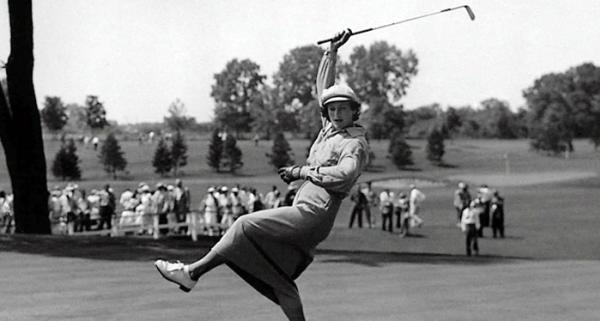 Babe Zaharias Golf Swing