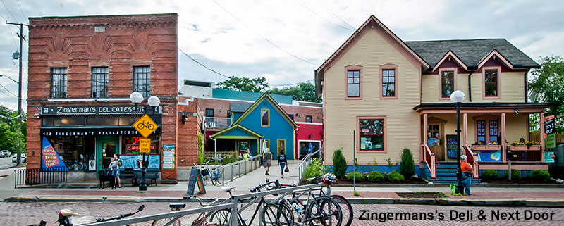 Zingerman's Deli and Next Door