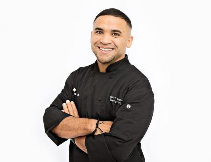 Chef Marc Quinones of MAS - Tapas y Vino at Hotel Andaluz in Albuquerque.