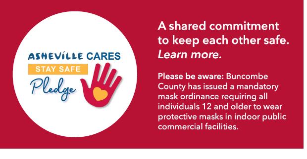 Asheville Cares Pledge Red